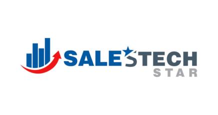News sales tech star logo